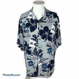 Reyn Spooner  PENN State Hawaiian Shirt Large